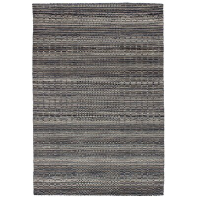 One-of-a-Kind Eurich Hand-Knotted Wool Gray Area Rug