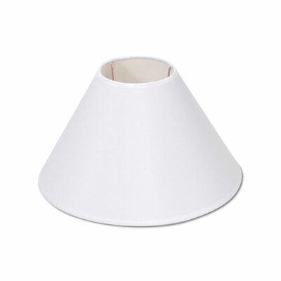 9 Empire Lamp Shade Finish: Plain White