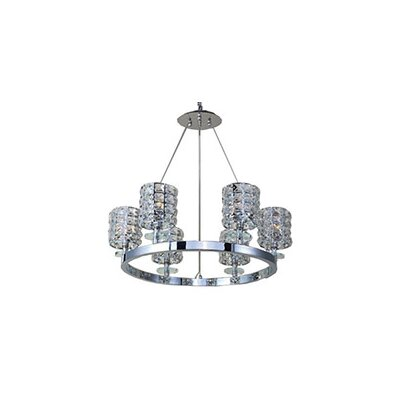 Mcdowell Glam 6-Light LED Crystal Pendant