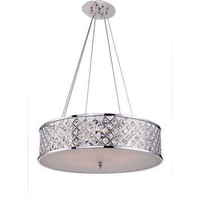 Mcdowell Glam 3-Light LED Drum Pendant