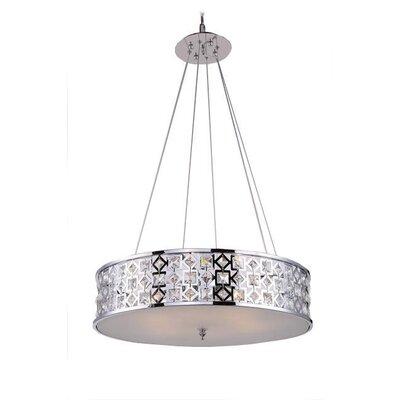 Mcdowell Glam 3-Light LED Drum Pendant
