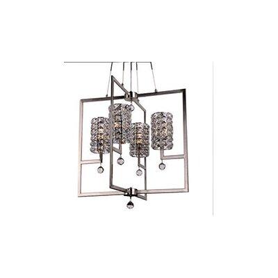 Mcdowell Glam 4-Light LED Crystal Pendant