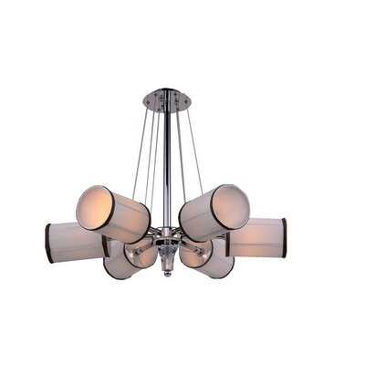 Mcdowell Glam 6-Light LED Geometric Pendant