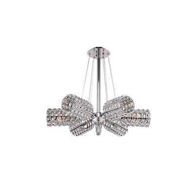 Mcdowell Glam 6-Light LED Crystal Pendant
