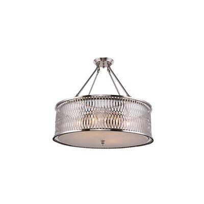 Barron 4-Light LED Semi Flush Mount