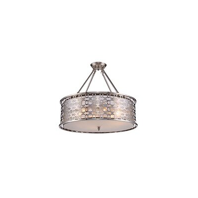 Barron 4-Light LED Semi Flush Mount