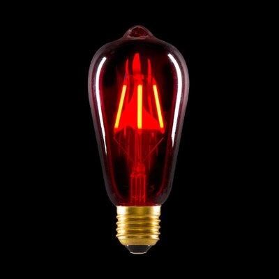 3.2W Red LED Light Bulb