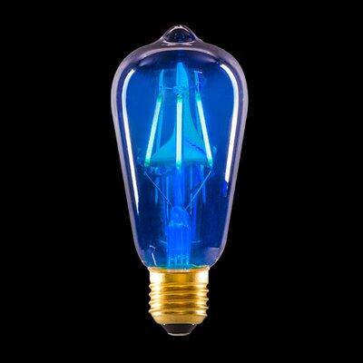 3.2W Blue LED Light Bulb
