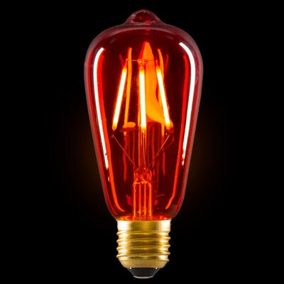 3.2W Amber LED Light Bulb