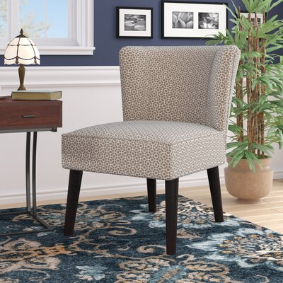 Lasalle Slipper Chair Upholstery: Dark Brown