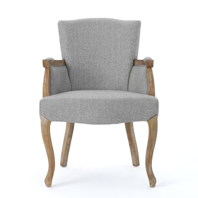 Prejean Upholstered Arm Chair Upholstery Color: Gray