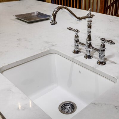 Fireclay 24 x 19 Undermount Kitchen Sink