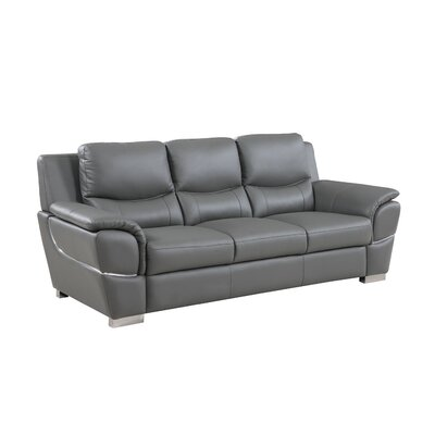 Henton Luxury Upholstered Living Room Sofa Upholstery: Gray