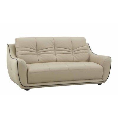 Henthorn Upholstered Living Room Sofa Upholstery: Beige