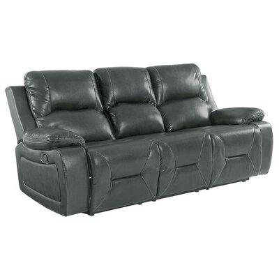 Ullery Upholstered Living Room Recliner Reclining Sofa Upholstery: Gray