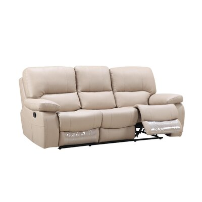 Claverton Air Reclining Sofa Upholstery: Beige