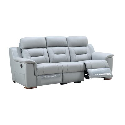 Kreger Air Reclining Sofa Upholstery: Gray