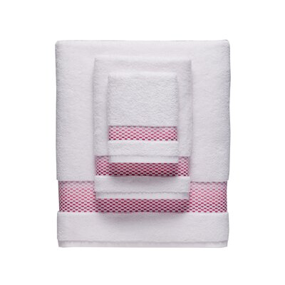 Rain Hand Towel Color: Pink