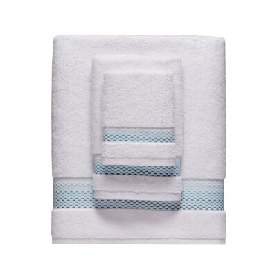Rain Hand Towel Color: Teal