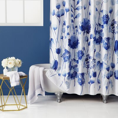 Corran 100 % Cotton Shower Curtain
