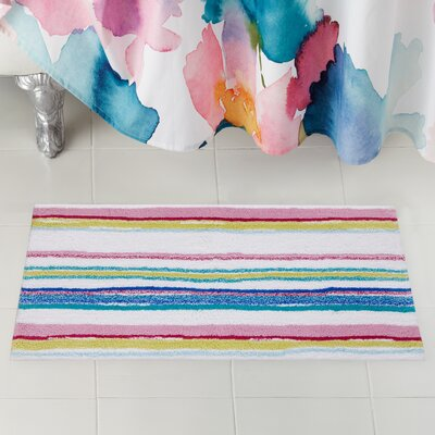 Kech Stripe Bath Rug