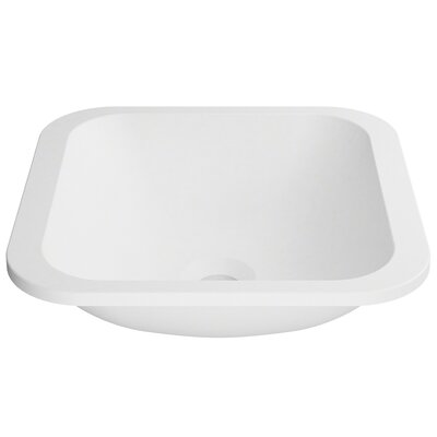 Natura� Square Undermount Bathroom Sink