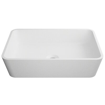 Natura� Rectangular Vessel Bathroom Sink