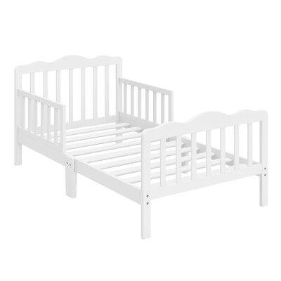 Hillside Toddler Slat Bed Bed Frame Color: White