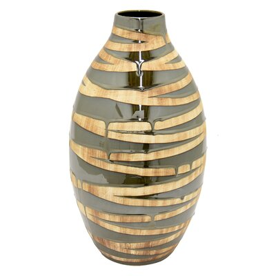 Kinde 2 Tone Floor Vase