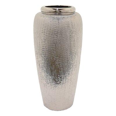 """Hayley Floor Vase Size: 20"""" H x 9.45"""" W x 9.45"""" D"""