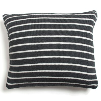 Devin Stripe 100% Cotton Throw Pillow