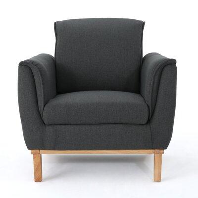 Cordia Armchair Upholstery: Dark Grey