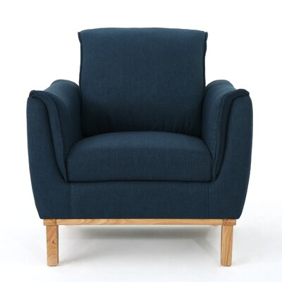 Cordia Armchair Upholstery: Navy Blue