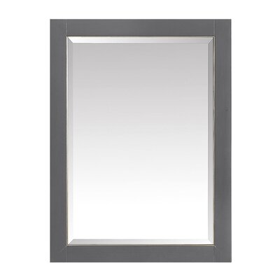 Hanchett 22 x 28 Surface Mount Medicine Cabinet Finish: Brushed Silver