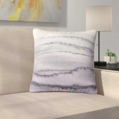Throw Pillow Size: 16 H x 16 W x 4 D, Color: Serenity