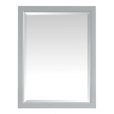 Handler 22 x 28 Surface Mount Medicine Cabinet Finish: Dove Gray