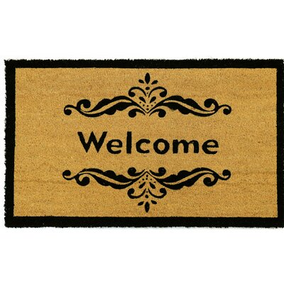 Bellevue PVC Back Printed Doormat