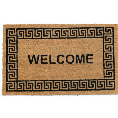 Edgeworth PVC Back Printed Doormat