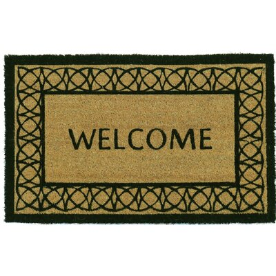 Matus PVC Back Printed Doormat Mat Size: Rectangle 1 54 x 2 54