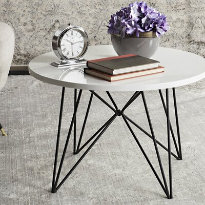 Lindsey Coffee Table Top Color: Lacquer White