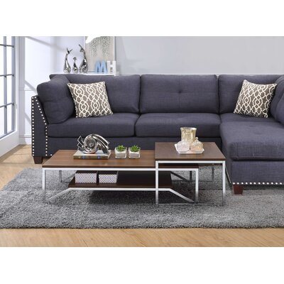 Hasler 2 Piece Coffee Table Set