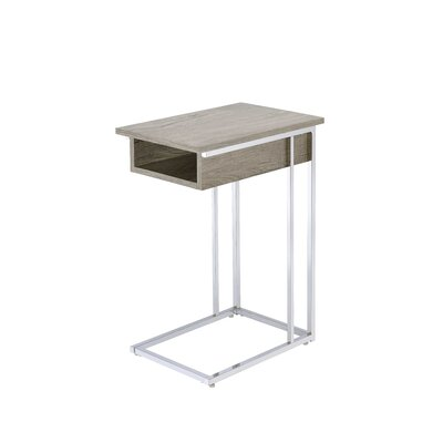 Hempel End Table Color: Gray Oak