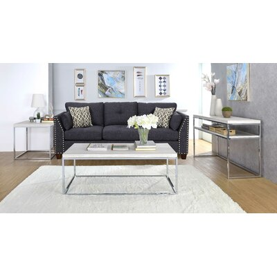Harvill 3 Piece Coffee Table Set