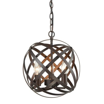 Mcinerney Cage 3-Light Candle-Style Chandelier