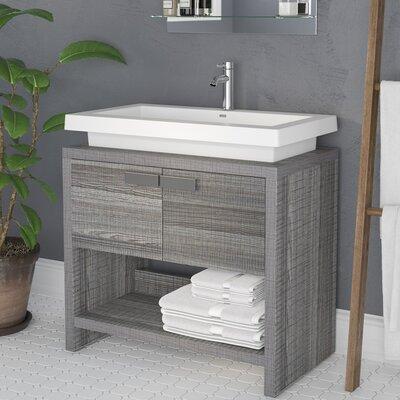 Gaynelle 32 Single Bathroom Vanity Set Base Finish: Ash Gray