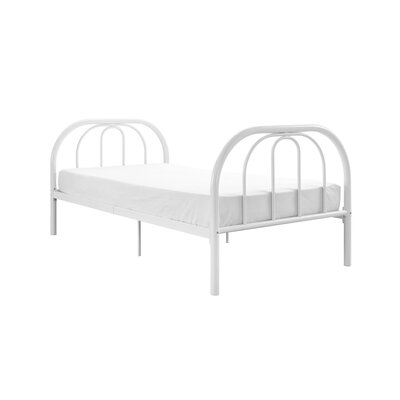 Dimatteo Platform Bed Size: Twin, Bed Frame Color: White