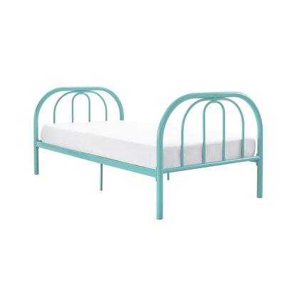 Dimatteo Platform Bed Size: Full, Bed Frame Color: Teal