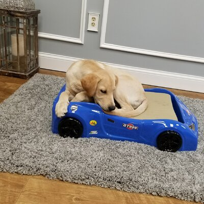 Dog Car Bed Color: Blue