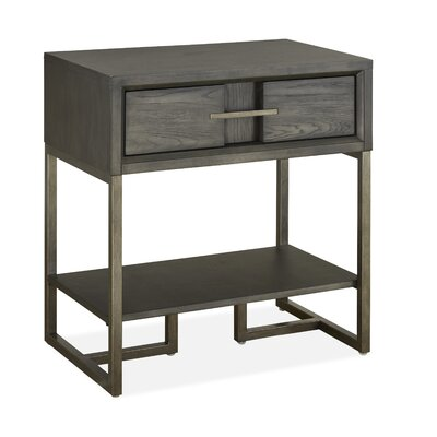 Diehl 1 Drawer Nightstand