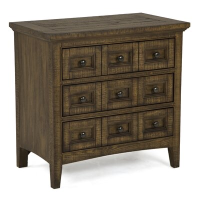 Westervelt 3 Drawer Nightstand